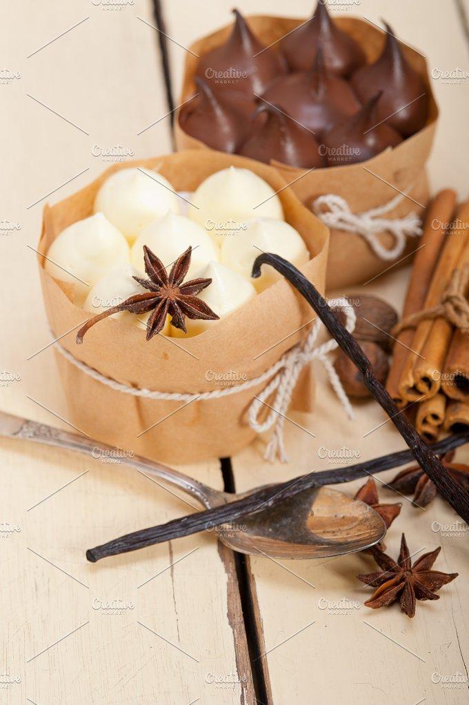 chocolate vanilla and spice cream cake dessert 058.jpg - Food & Drink