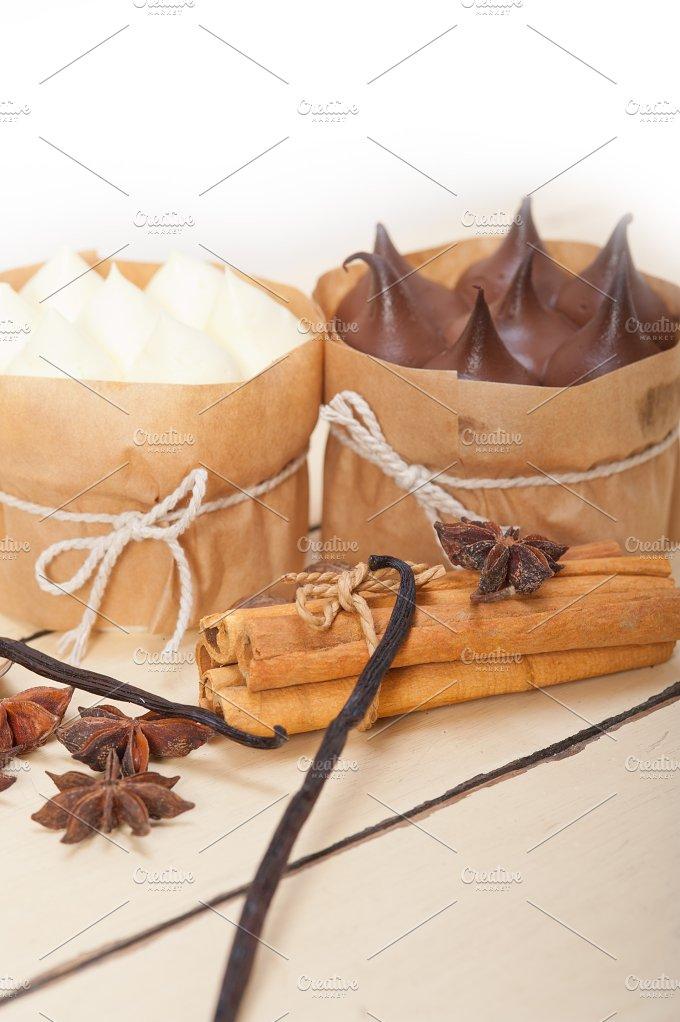 chocolate vanilla and spice cream cake dessert 066.jpg - Food & Drink