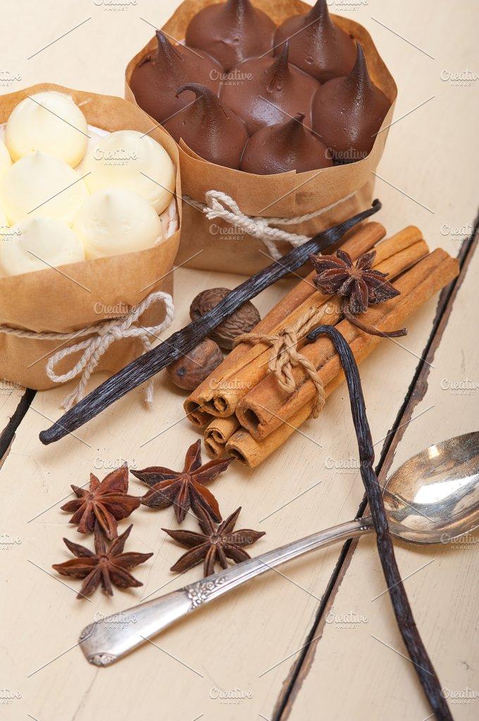 chocolate vanilla and spice cream cake dessert 072.jpg - Food & Drink