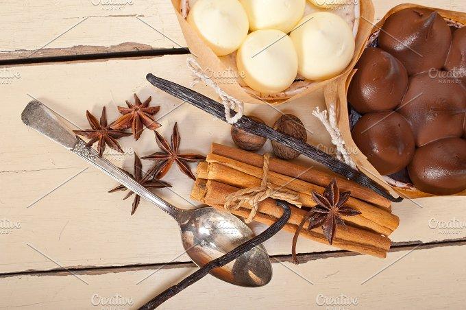 chocolate vanilla and spice cream cake dessert 075.jpg - Food & Drink