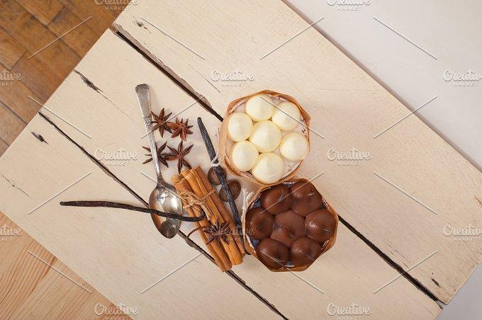 chocolate vanilla and spice cream cake dessert 079.jpg - Food & Drink