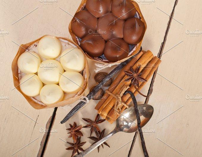 chocolate vanilla and spice cream cake dessert 084.jpg - Food & Drink