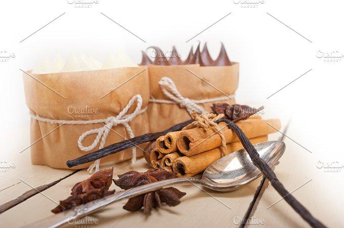 chocolate vanilla and spice cream cake dessert 092.jpg - Food & Drink