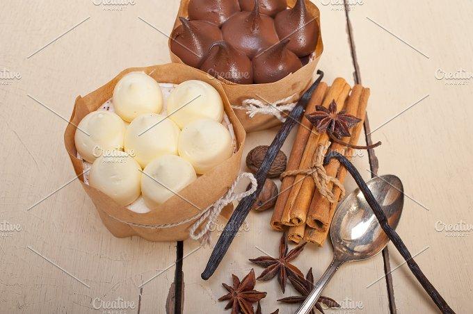 chocolate vanilla and spice cream cake dessert 100.jpg - Food & Drink