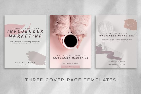 Workbook/eBook Canva Template | Sand in Magazine Templates - product preview 2