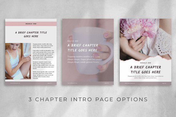 Workbook/eBook Canva Template | Sand in Magazine Templates - product preview 4