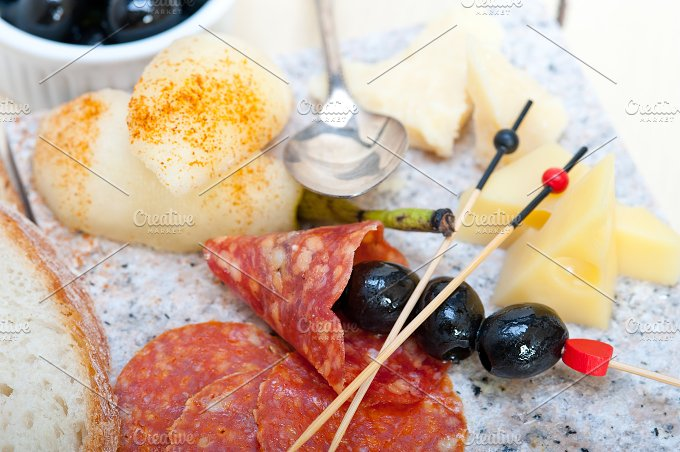 cold cut snack on stone 049.jpg - Food & Drink