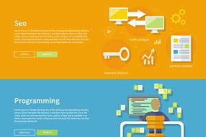 Programming and Seo Concept