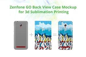 Zenfone GO 3dCase Design Mockup