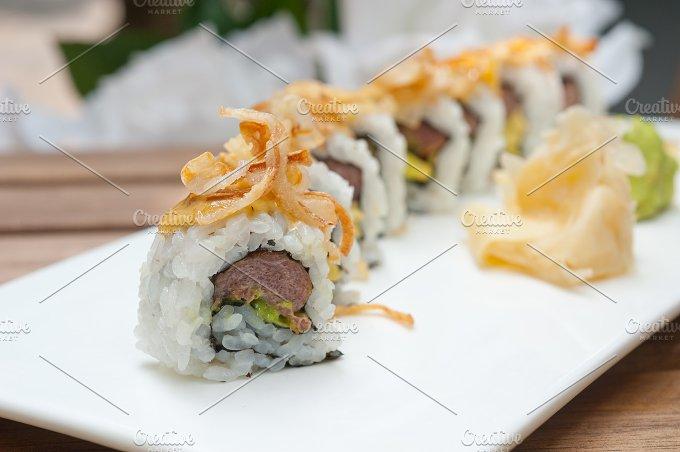 Japanese sushi rolls 001.jpg - Food & Drink