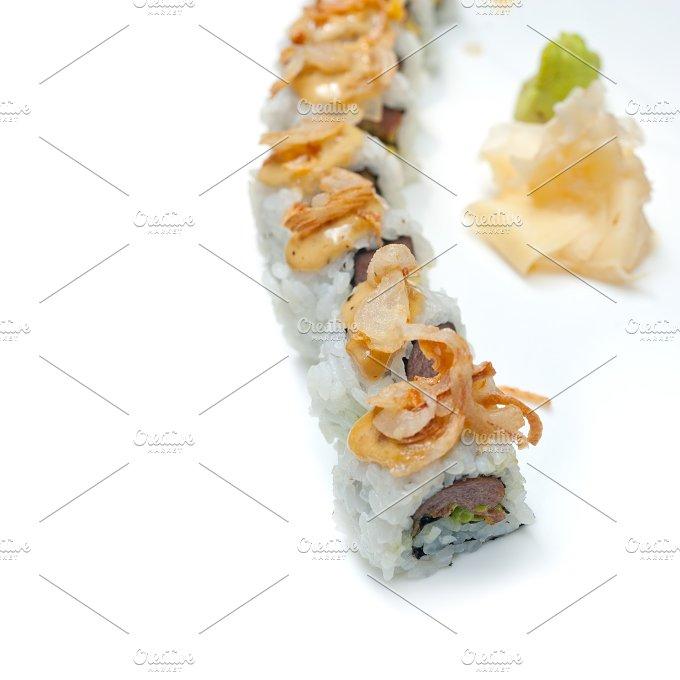Japanese sushi rolls 006.jpg - Food & Drink