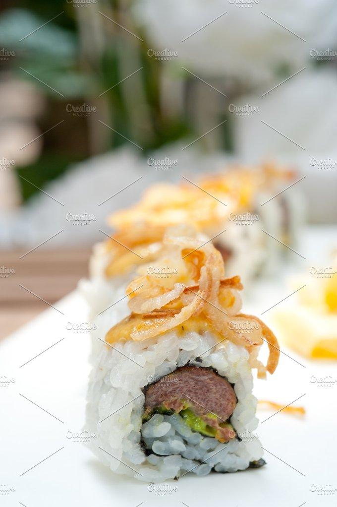 Japanese sushi rolls 007.jpg - Food & Drink