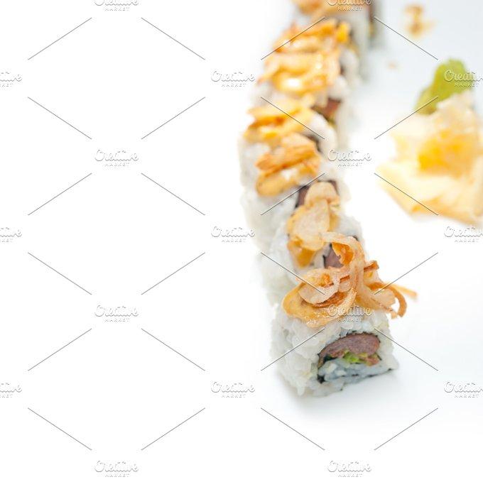 Japanese sushi rolls 009.jpg - Food & Drink