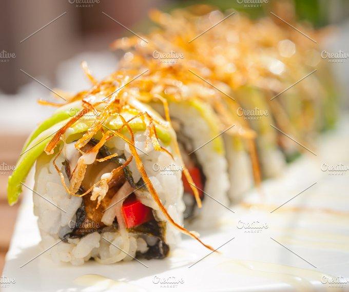 Japanese sushi rolls 011.jpg - Food & Drink