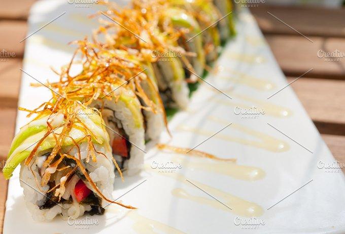 Japanese sushi rolls 015.jpg - Food & Drink