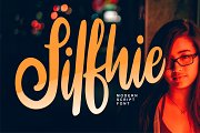 Silfhie   Modern Script Font