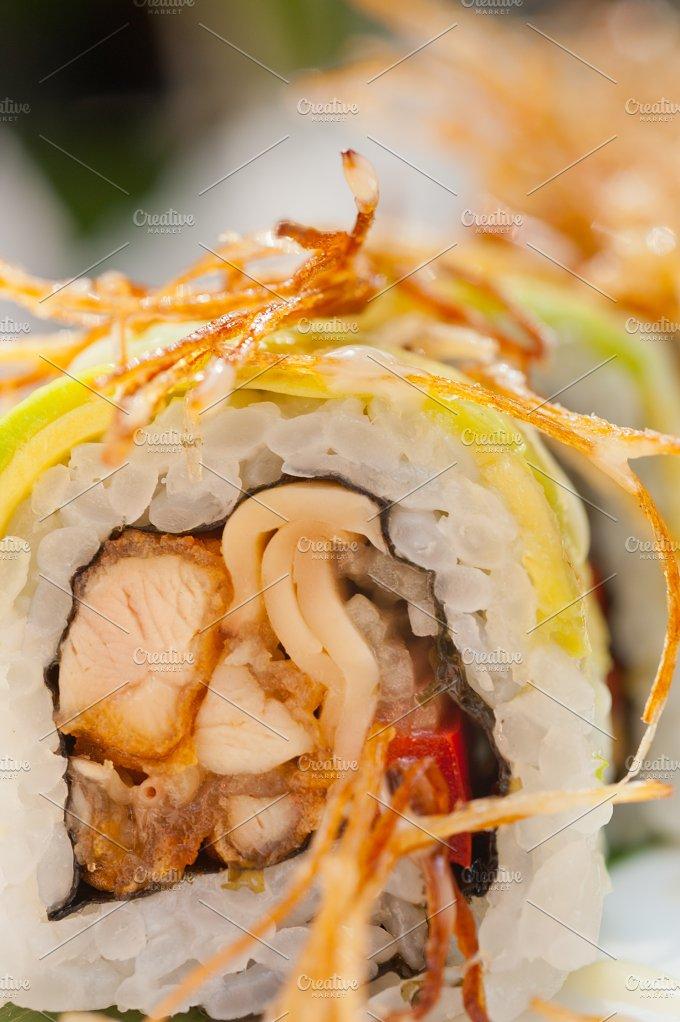 Japanese sushi rolls 021.jpg - Food & Drink