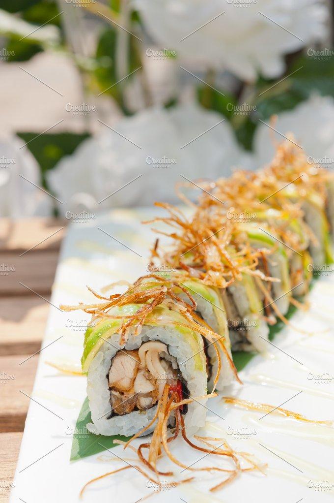 Japanese sushi rolls 025.jpg - Food & Drink