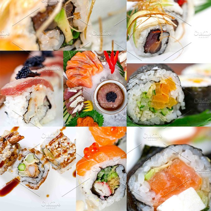 sushi collage 1.jpg - Food & Drink