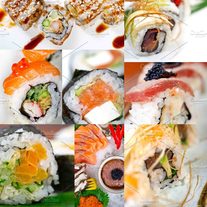 sushi collage 2.jpg - Food & Drink