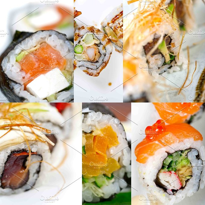 sushi collage 8.jpg - Food & Drink