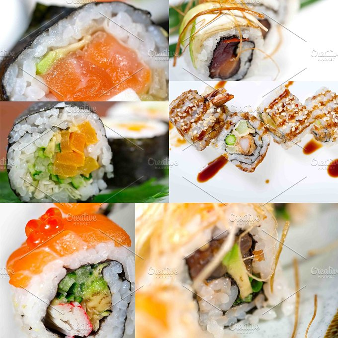sushi collage 6.jpg - Food & Drink