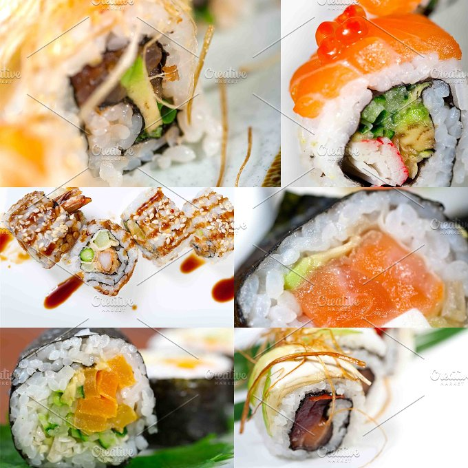 sushi collage 12.jpg - Food & Drink
