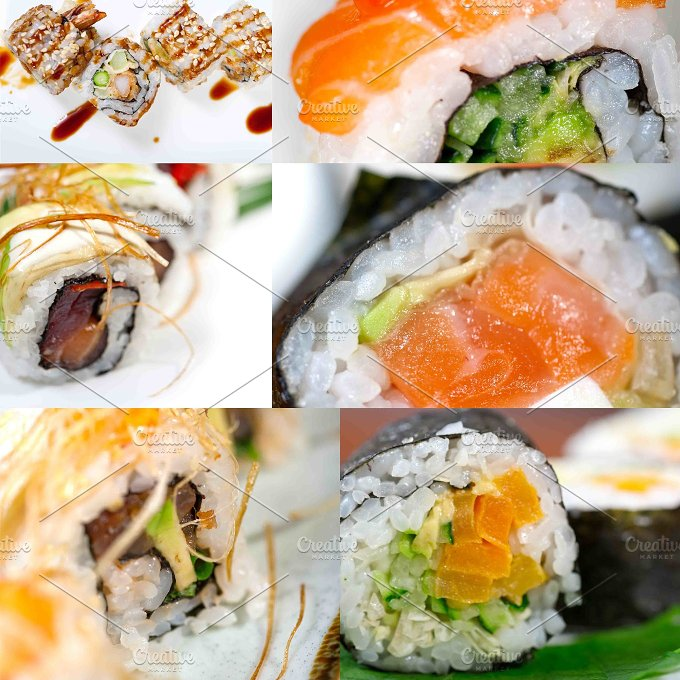 sushi collage 13.jpg - Food & Drink