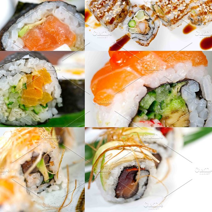 sushi collage 15.jpg - Food & Drink