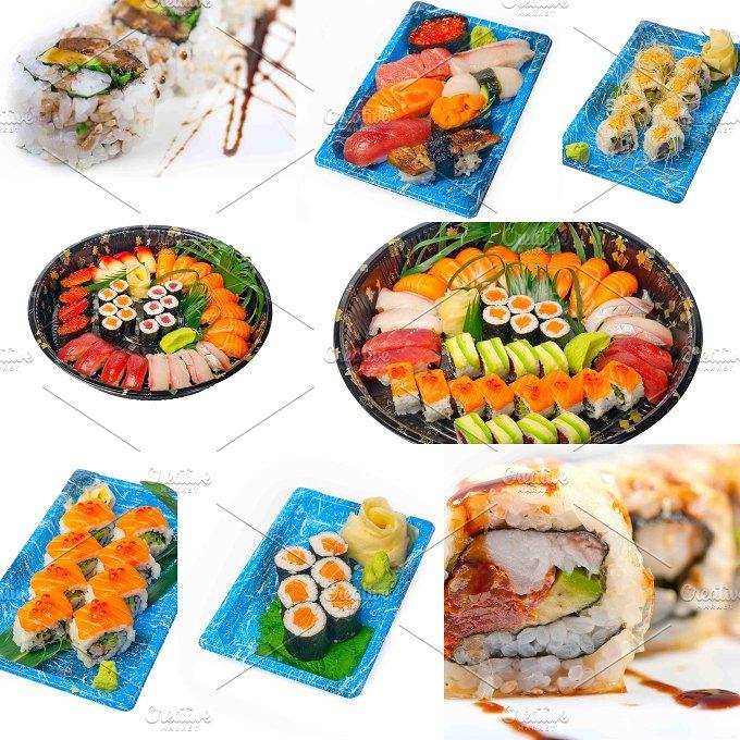 sushi take away collage 2.jpg - Food & Drink