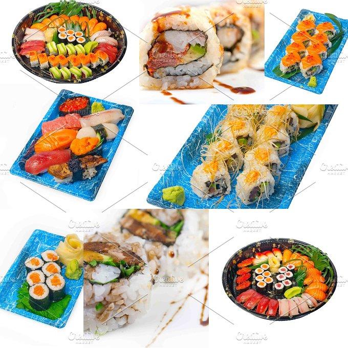 sushi take away collage 3.jpg - Food & Drink