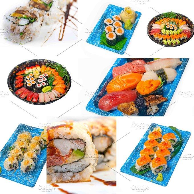 sushi take away collage 4.jpg - Food & Drink