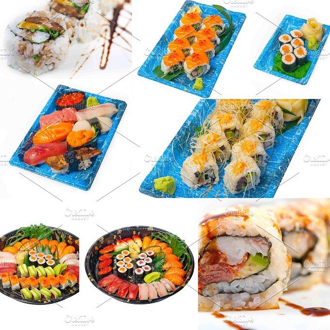 sushi take away collage 5.jpg - Food & Drink