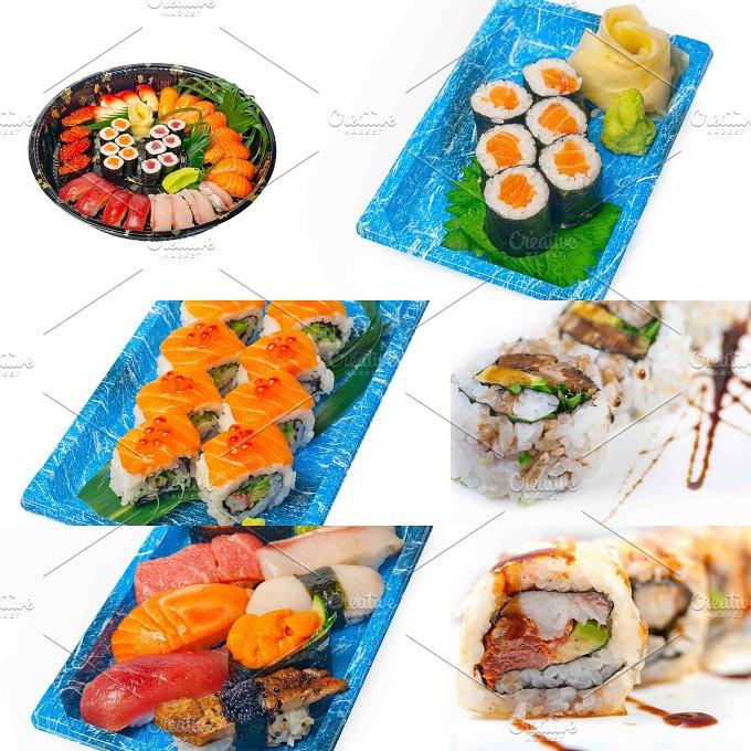 sushi take away collage 8.jpg - Food & Drink