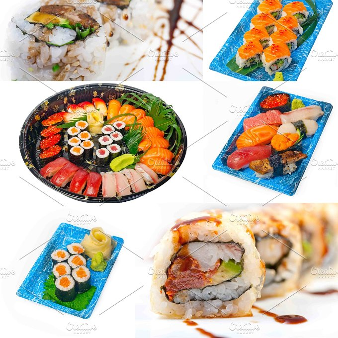sushi take away collage 12.jpg - Food & Drink