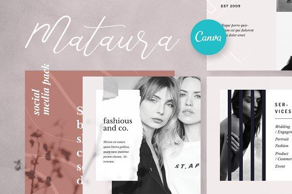 Mataura - Social Media Pack