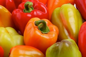 Bell Peppers Background