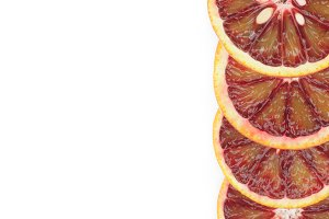 Frame of Blood Oranges