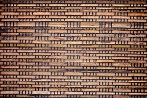 Wicker Straw Mat Background