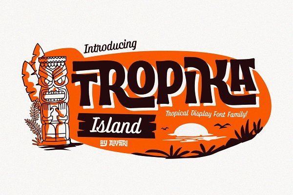 Tropik Island Font Family