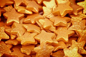 Golden Sugar Stars