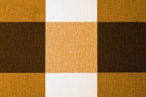 Beige, Orange and Brown Tablecloth
