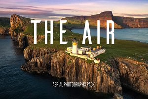The Air - aerial photographs pack