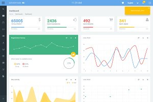Advantage - Responsive Admin Theme