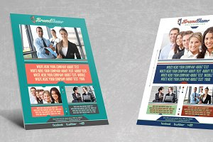 Corporate Flyer Template v6