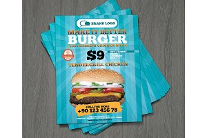 Hamburger_king-flyer_modern-A4