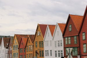 facades of europe - bergen
