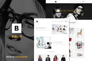 Balis - portfolio WordPress theme