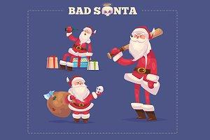 Set of the Bad Santa