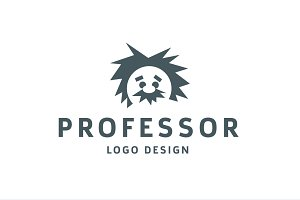 Professor Logo einstein physics